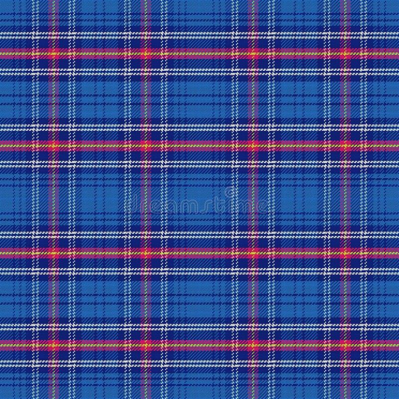 传染媒介无缝的样式苏格兰格子呢军队 向量例证