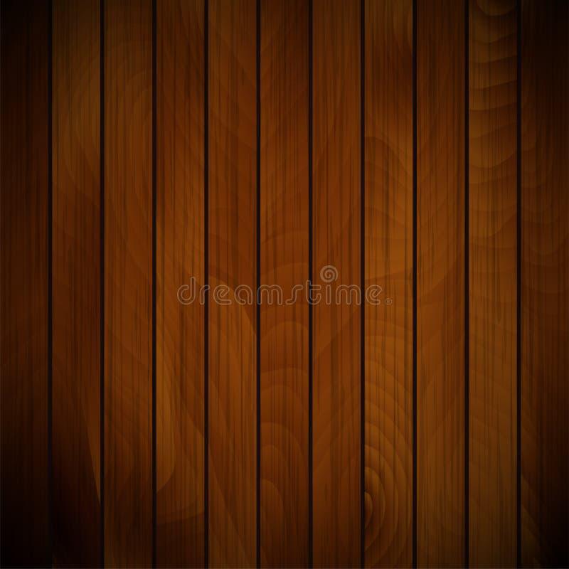 传染媒介木头板条 库存例证