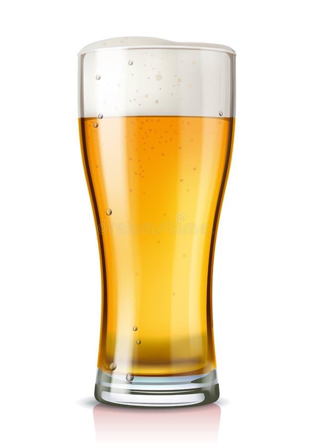 传染媒介杯啤酒 皇族释放例证