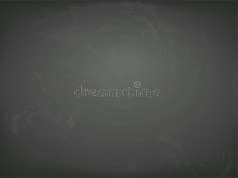 传染媒介黑黑板背景 黑板 向量例证