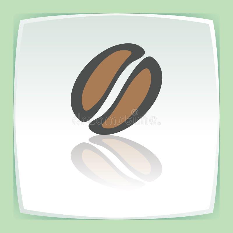 传染媒介概述咖啡豆象 现代infographic商标和图表 库存例证