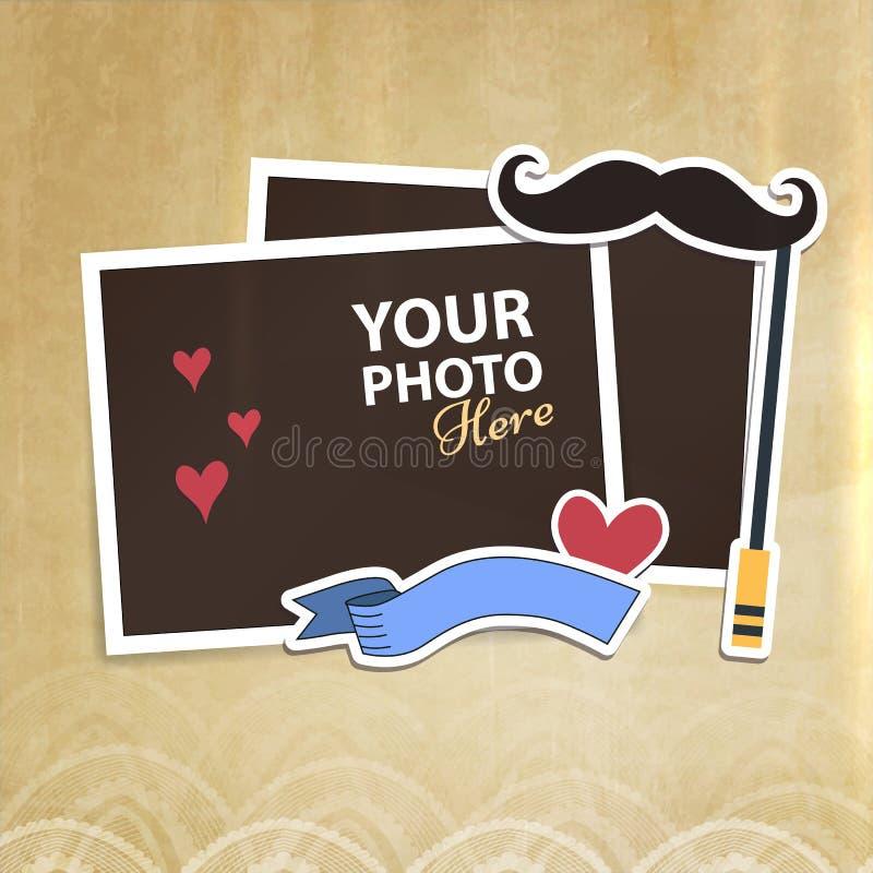 Download 传染媒介照片框架 向量例证. 插画 包括有 拼贴画, 纸张, 冷静, 图象, 国界的, 内存, 要素, 生日 - 72369979