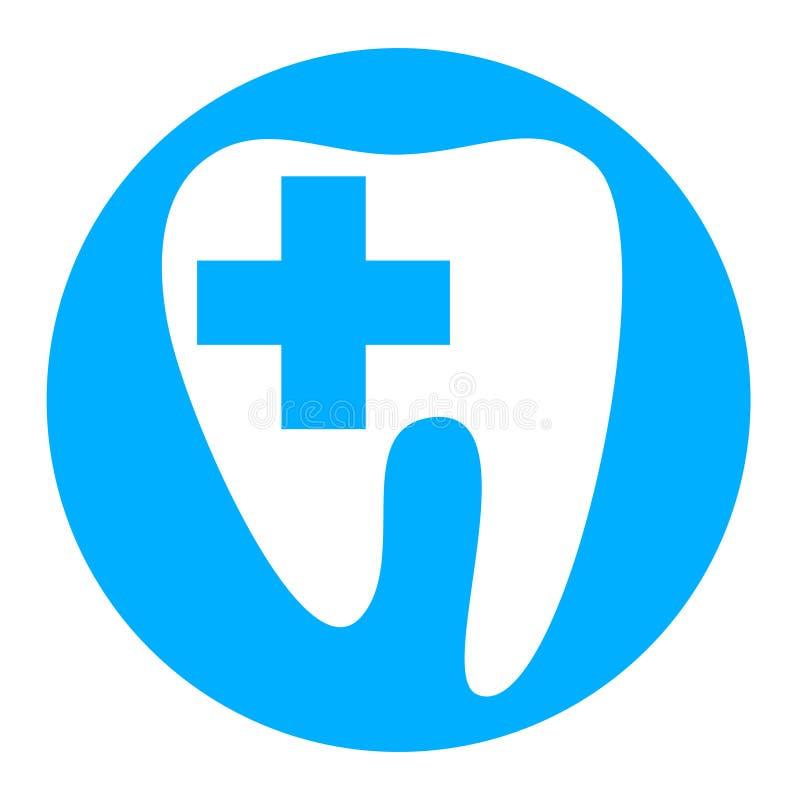 传染媒介-牙医 免版税库存照片