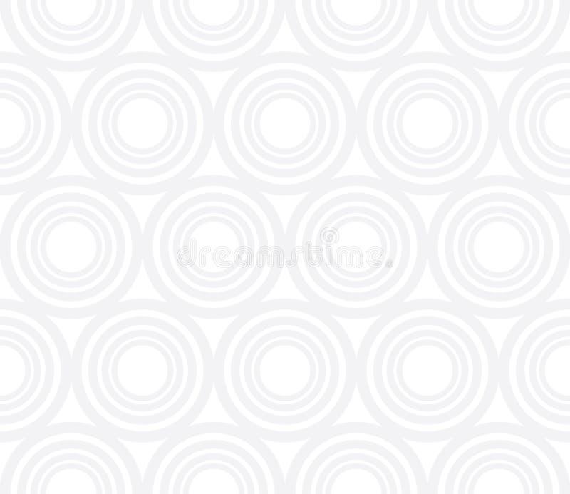 传染媒介现代抽象几何盘旋样式 灰色无缝的几何背景 皇族释放例证