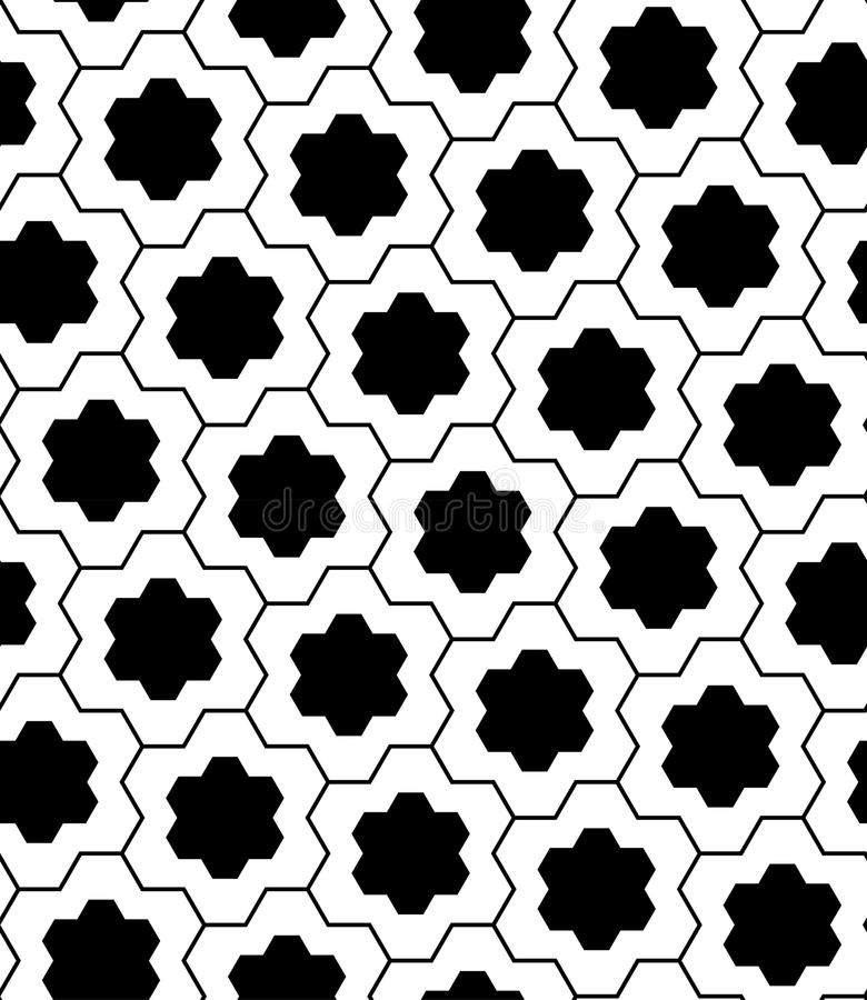 传染媒介现代无缝的几何样式难题 向量例证