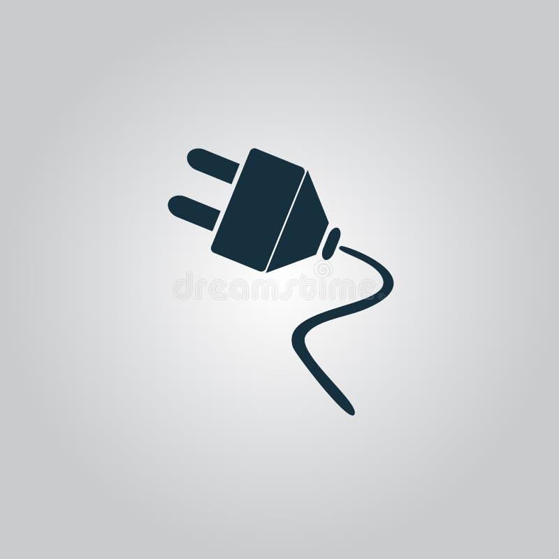 传染媒介电子插座网平的象 向量例证