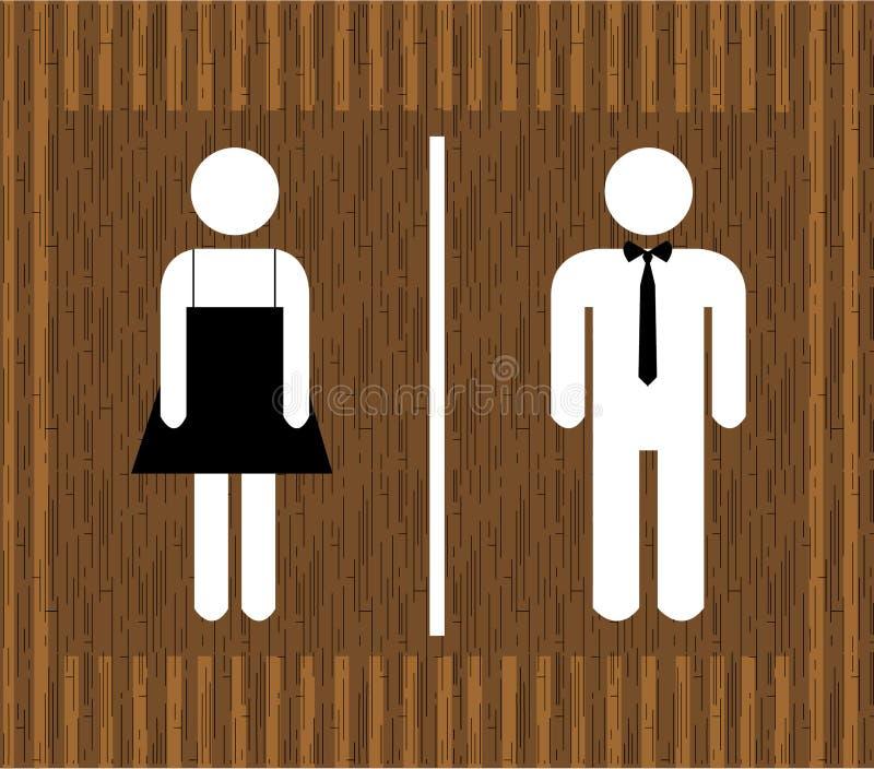 传染媒介男人&妇女休息室 图库摄影