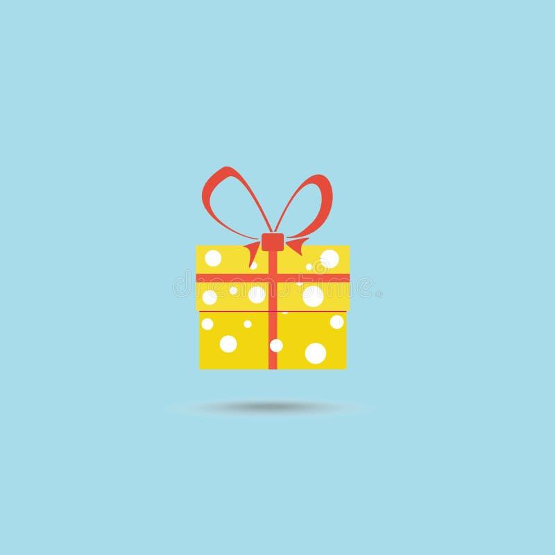 传染媒介礼物盒例证 向量例证
