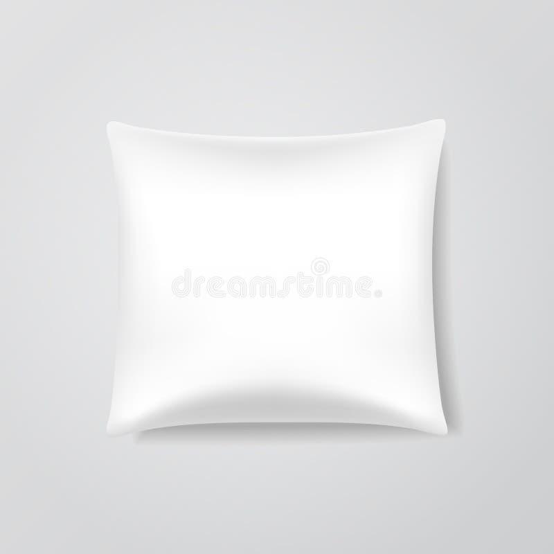 传染媒介空白的枕头 向量例证