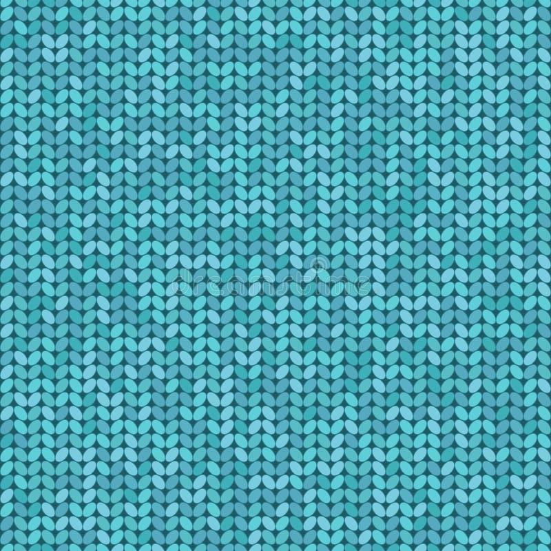 传染媒介编织了无缝的样式,编织工艺背景 向量例证