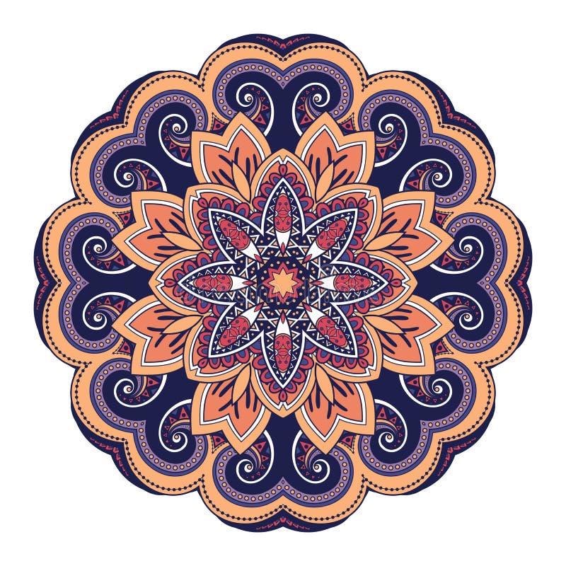 传染媒介美丽的Deco色的坛场 皇族释放例证