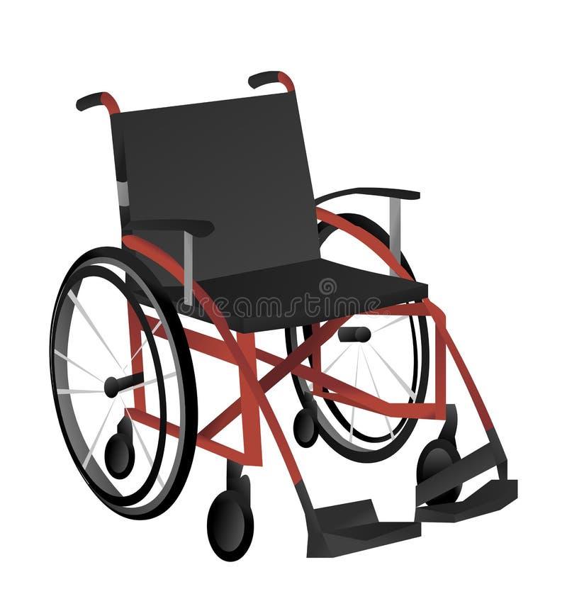 传染媒介轮椅 图库摄影