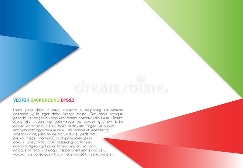 传染媒介颜色背景摘要多角形三角 皇族释放例证