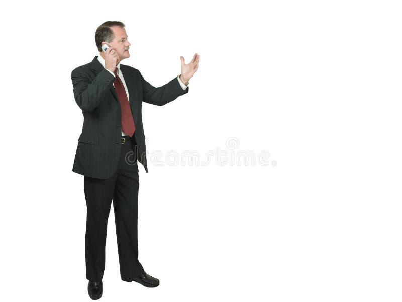 传神谈话 免版税库存照片