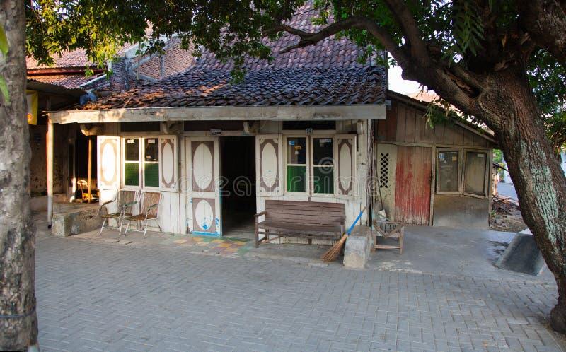 传统三宝垄房子 免版税库存图片