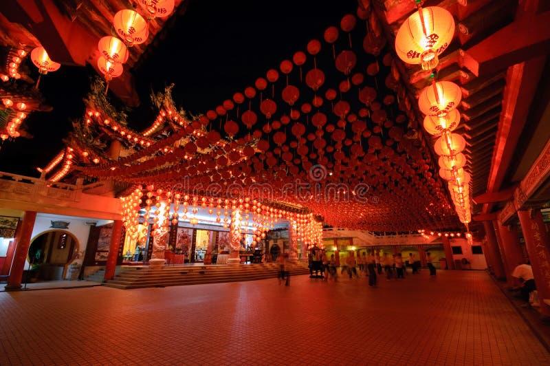 传统中国的寺庙 免版税图库摄影