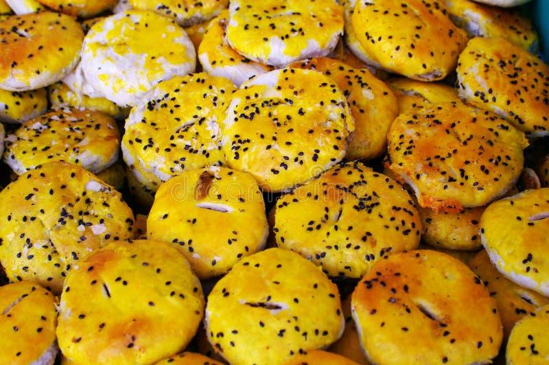 传统中国的食物 库存图片