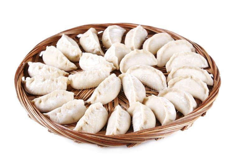 传统中国的饺子 库存图片