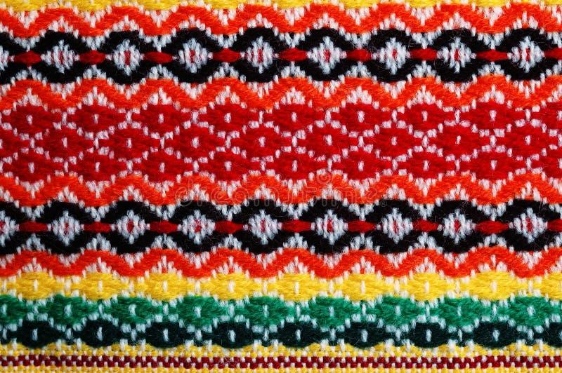 传统保加利亚的刺绣 库存照片