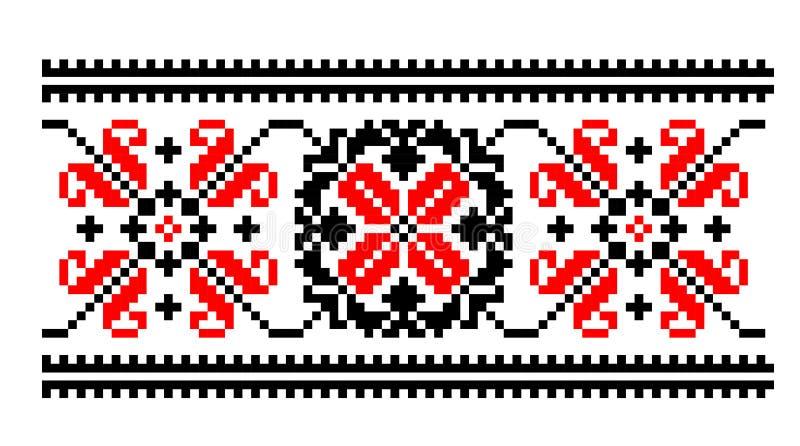 传统刺绣样式 库存照片