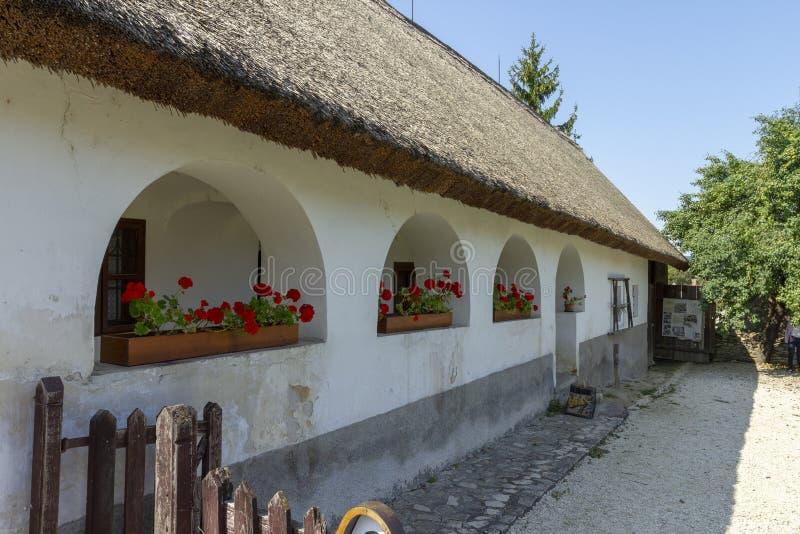 传统匈牙利房子 图库摄影