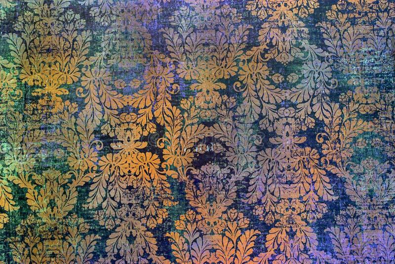 传统古板的破旧的纸样式 库存图片