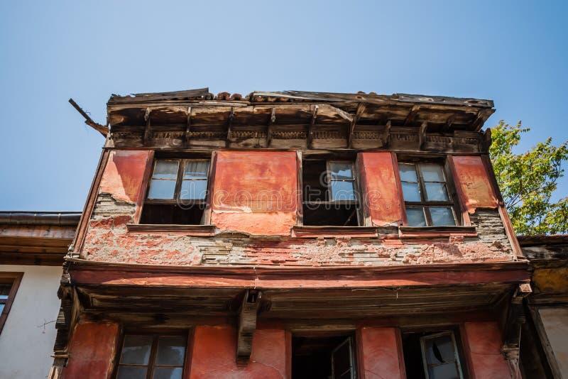传统土耳其议院Rıuin等待的恢复和整修 库存图片
