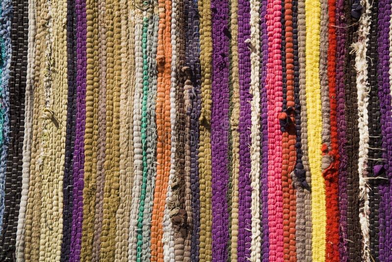传统地毯埃及做的自 库存照片