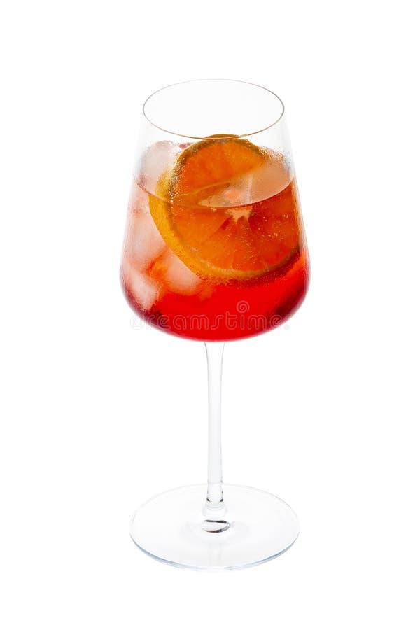 传统威尼斯式喷鸡尾酒 库存图片