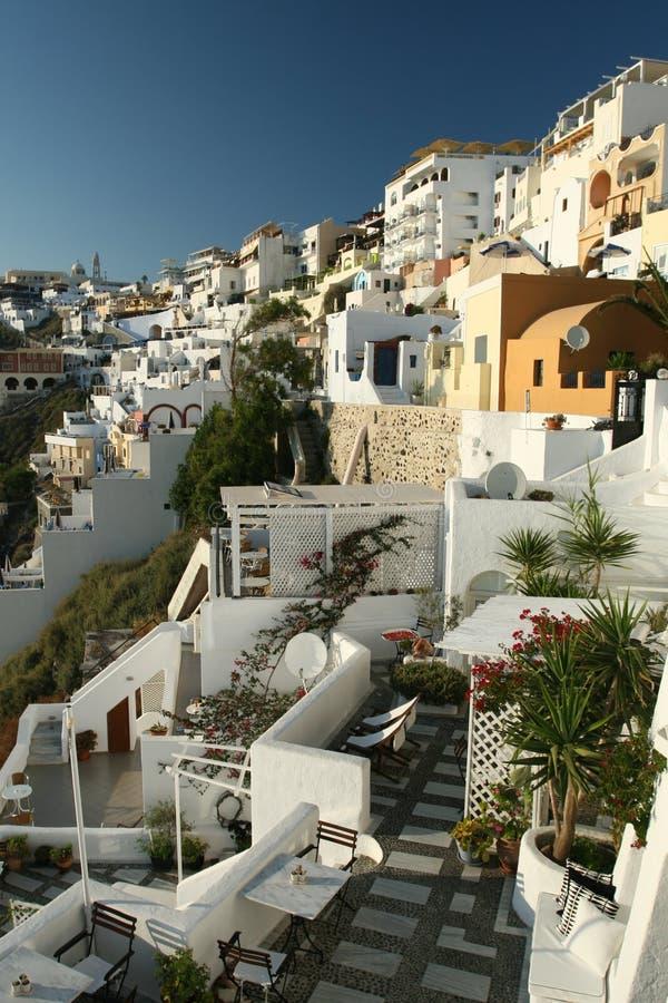 传统希腊的旅馆 库存照片