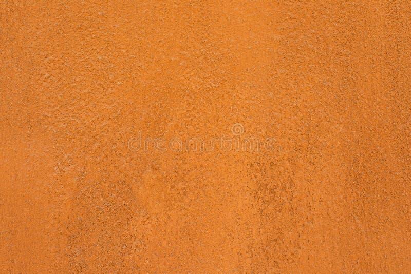 传统摩洛哥赤土陶器色的背景 免版税库存图片