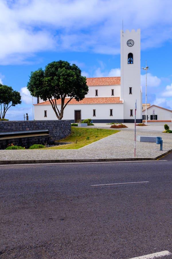 传统教会在马德拉岛 库存图片
