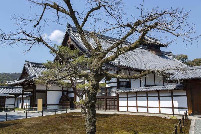传统日本建筑学房子 库存图片