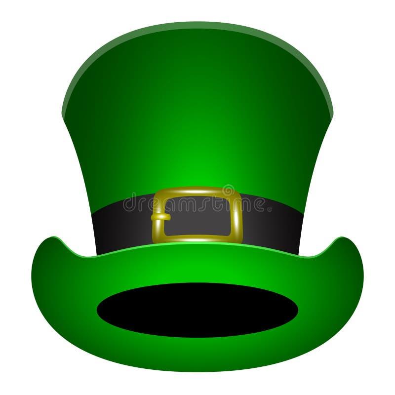 传统爱尔兰帽子 免版税库存照片