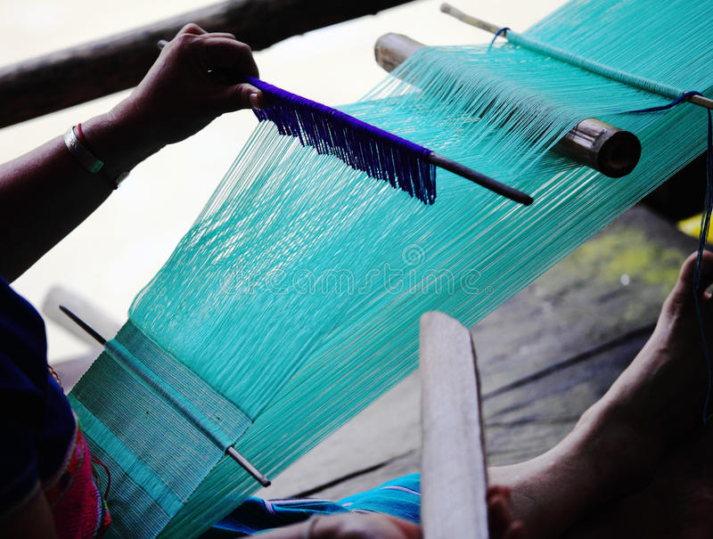传统的织布机 库存图片