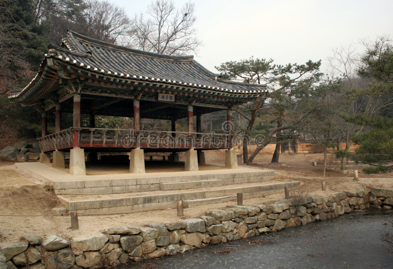传统的韩国 免版税库存照片