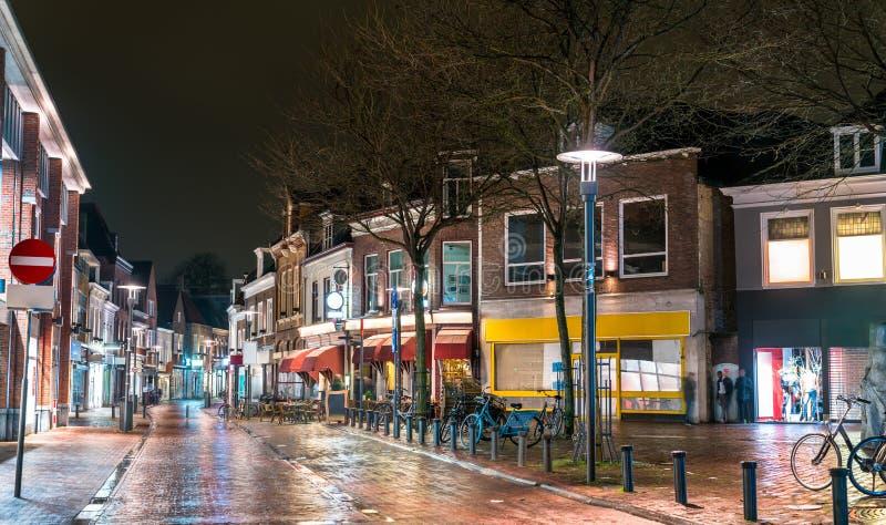 传统荷兰房子在阿莫斯福特,荷兰 免版税图库摄影
