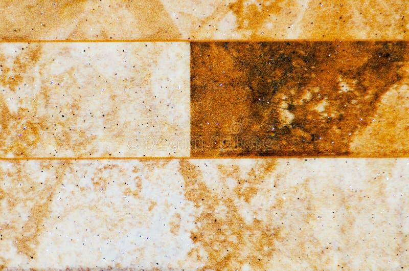 传统装饰西班牙装饰瓦片,原始的cerami 免版税库存图片