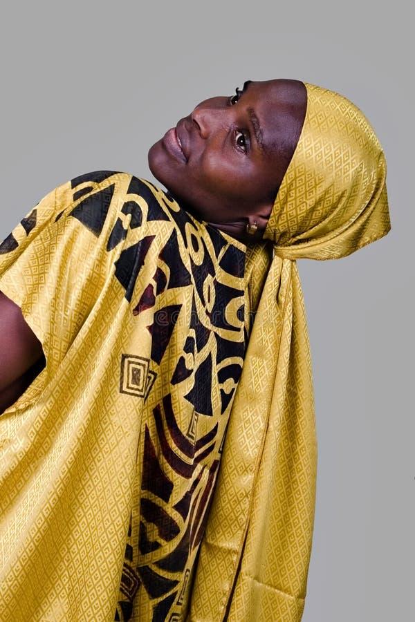 传统非洲的方式 库存图片