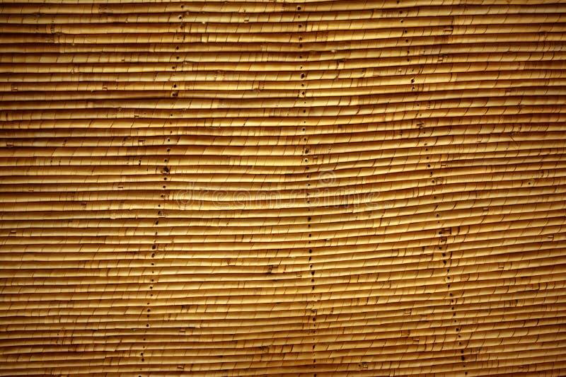 传统非洲藤茎最高限额屋顶的系统 库存图片