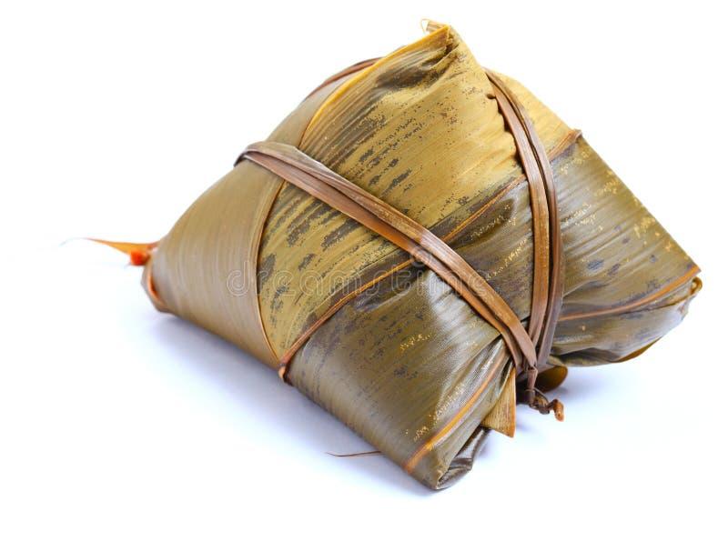 传统饺子的米 库存照片