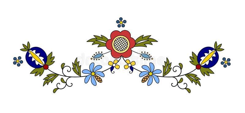 传统,现代波兰传染媒介 皇族释放例证
