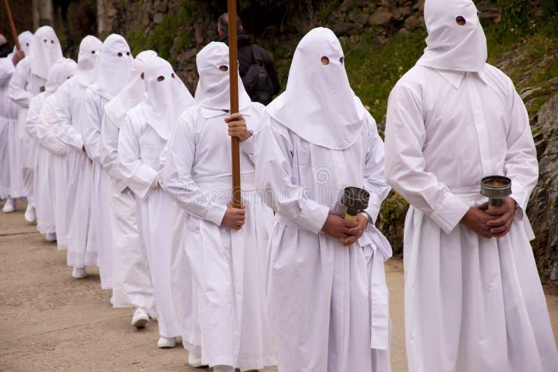 传统2复活节的队伍 免版税库存图片