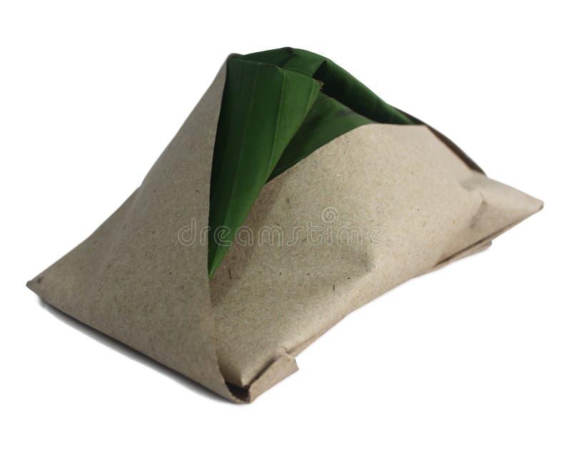 传统lemak马来的nasi 库存图片