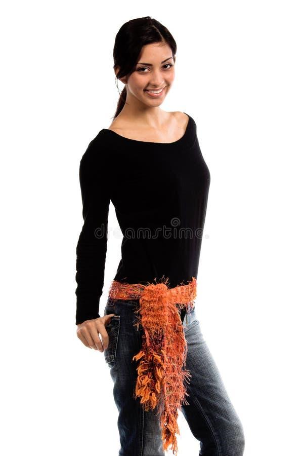 传送带女装设计 库存照片