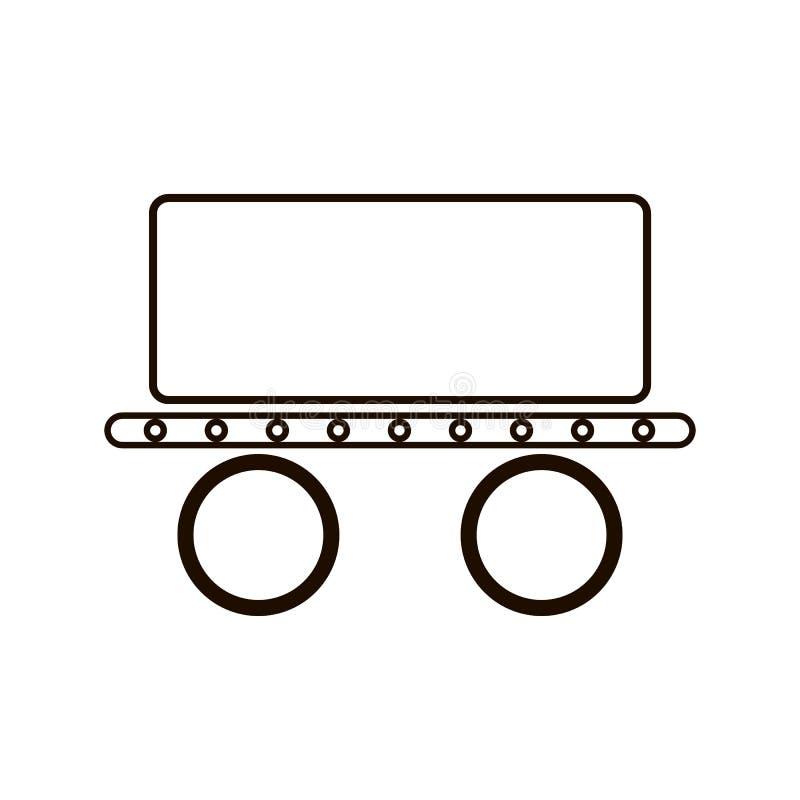 传送带象 专家,为大和小决议优选的映象点完善的象 eps 10格式 向量例证