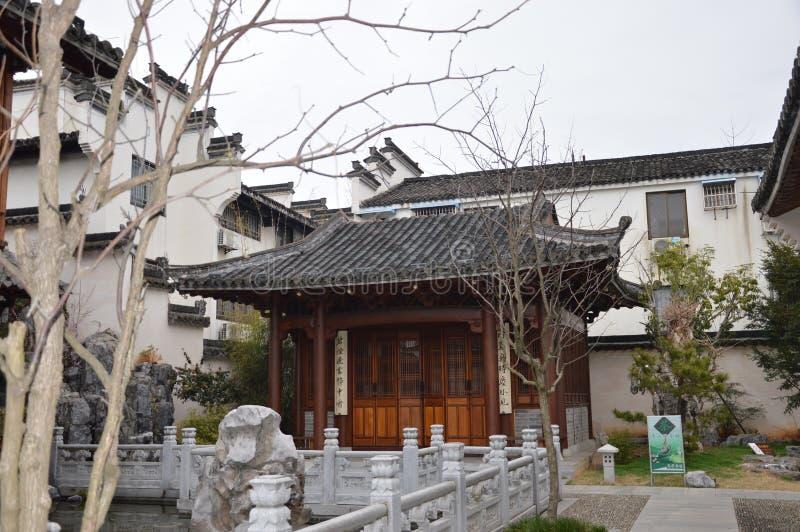 传统中国的庭院 图库摄影