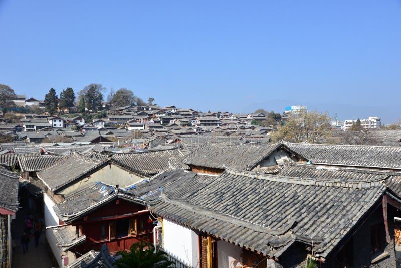 传统中国的房子 库存图片
