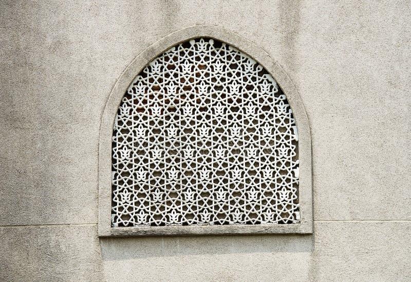 传统伊斯兰教的作为背景使用的样式和设计 免版税库存照片