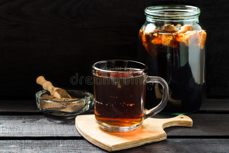 传统俄国饮料俄国啤酒 库存图片